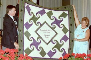 Quilt - given in 2000