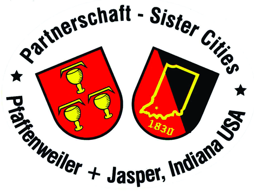 German symbol for sister gallery symbols and meanings city of jasper indiana sister city pfaffenweiler germany in 1847 85 residents of pfaffenweiler germany headed biocorpaavc Gallery