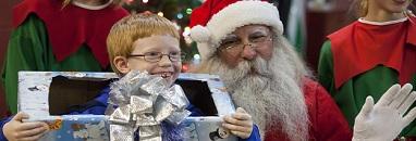 Santa Arrives in Jasper