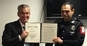 JPD Officer Loya Honored by United States Dept. of Justice