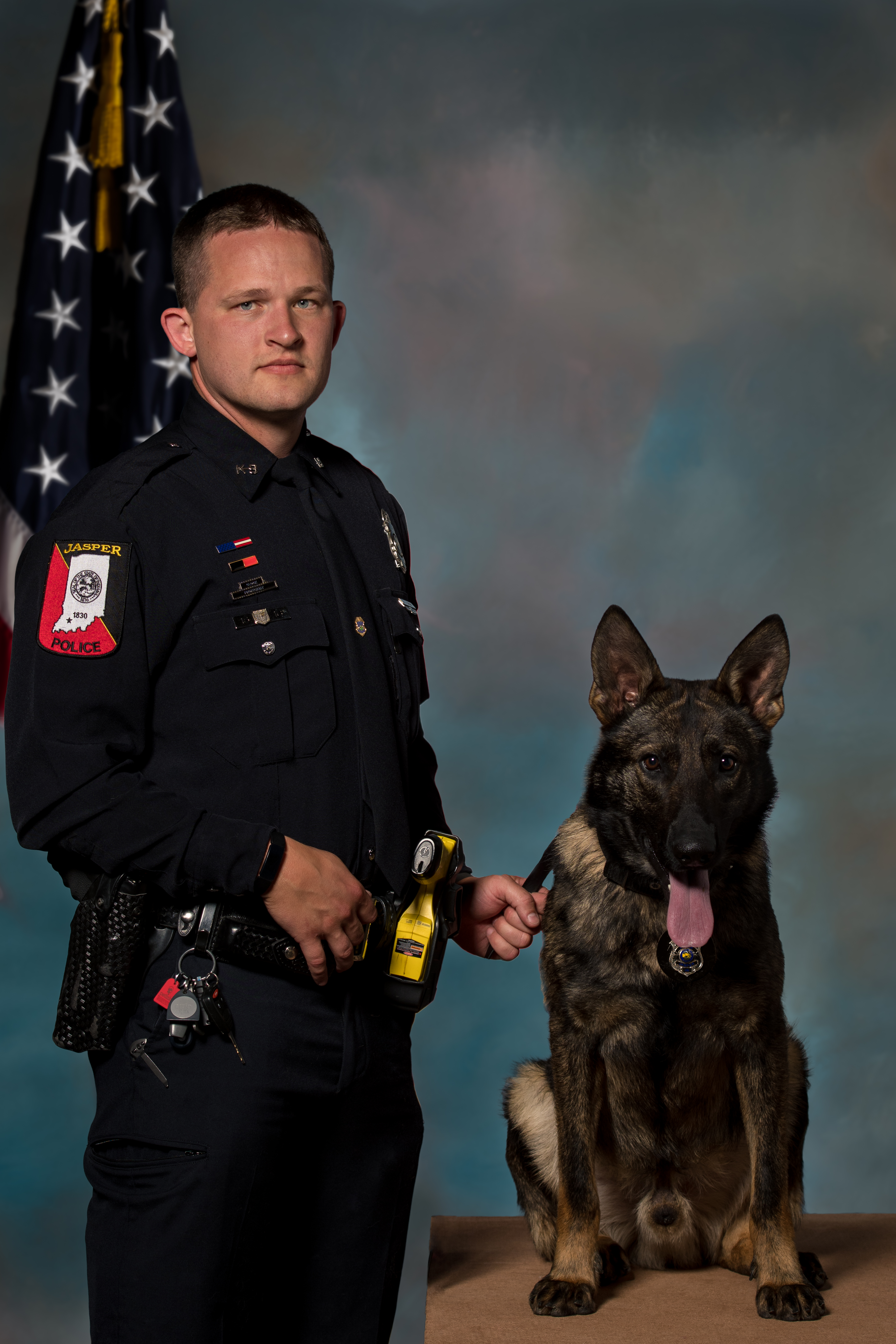 2019 Roll Call_Brent Duncan and K-9 Mack
